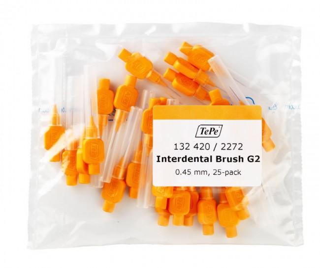 Межзубные оранжевые щетки Original