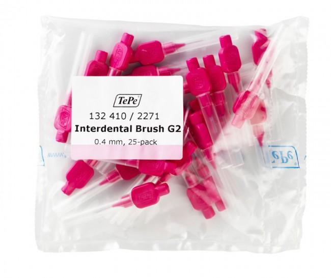 Межзубные розовые щетки Original G2